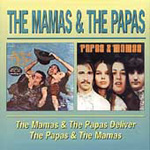 Produktbilde for The Mamas & The Papas Deliver / The Papas & The Mamas (CD)