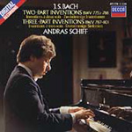 Bach: Two-part & Three-part Inventions (CD)