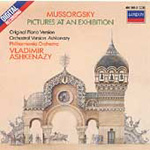 Mussorgsky: Pictures at an Exhibition (piano & orch versions) (CD)