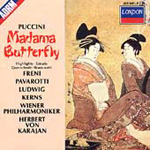 Puccini: Madama Butterfly - highlights (CD)