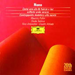Nono: Vocal & Instrumental Works (CD)