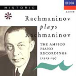 Rachmaninov from Ampico Piano Rolls (CD)