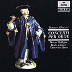 Albinoni: Oboe Concertos from Op. 8 (CD)