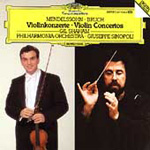 Bruch and Mendelssohn: Violin Concertos (CD)