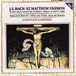 Bach: St Matthew Passion (Excerpts) (CD)