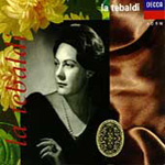 Renata Tebaldi sings Opera Arias (CD)