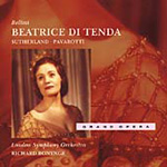 Bellini: Beatrice di Tenda; Operatic Arias (CD)