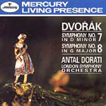 Dvorák: Symphonies Nos 7 and 8 (CD)
