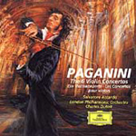 Produktbilde for Paganini: Violin Concertos (USA-import) (CD)