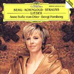 Berg/Korngold/R. Strauss: Lieder (CD)