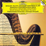 Mozart: Flute And Harp Concerto; Sinfonia Concertante (CD)