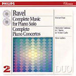 Ravel: Piano Concertos; Piano Works (CD)