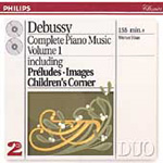 Debussy: Complete Piano Music, Vol.1 (CD)