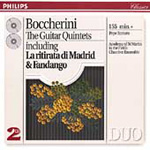 Boccherini: Guitar Quintets (CD)
