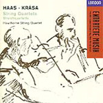 Haas/Krása: String Quartets (CD)
