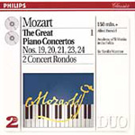Mozart: Great Piano Concertos, Vol. 1 (CD)