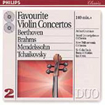 Favourite Violin Concertos (CD)