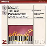 Mozart: Great Piano Concertos, Vol. 2 (CD)