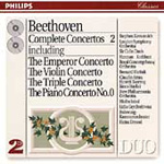 Beethoven: Concertos, Volume 2 (CD)