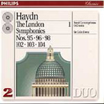 Haydn: London Symphonies, Vol. 1 (CD)
