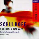 Schulhoff: Concertos and Piano Music (CD)