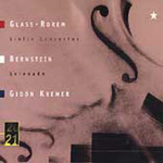 Bernstein/Glass/Rorem: Violin Concertos (CD)