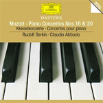 Mozart: Piano Concertos 16 & 20 (CD)