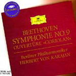 Beethoven: Symphony No 9; Coriolan Overture (CD)