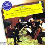 Brahms: Piano Quartet No 1;Ballades (CD)