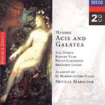 Handel: Acis and Galatea, etc (CD)