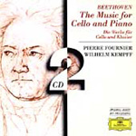 Beethoven: Cello Sonatas 1-5 etc (CD)