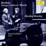 Brahms: Songs Without Words (CD)