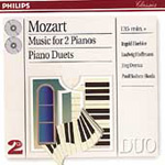 Mozart: Music for 2 Pianos; Piano Duets (CD)