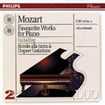 Mozart: Favourite Piano Works (CD)