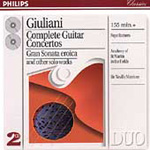 Giuliani: Complete Guitar Concertos (CD)