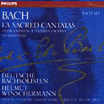 Bach: Sacred Cantatas, etc (CD)