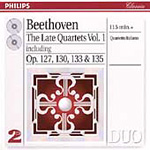 Beethoven: Late String Quartets, Vol.1 (CD)