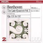 Beethoven: Late String Quartets, Vol.2 (CD)