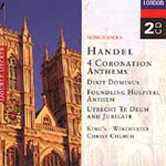 Handel: Coronation Anthems etc (CD)
