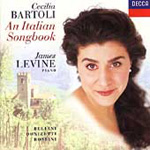 Produktbilde for An Italian Songbook: Cecilia Bartoli (CD)