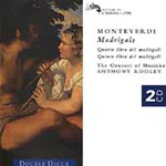 Monteverdi: Madrigals (CD)
