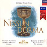 Nessun Dorma - 20 Great Tenor Arias (CD)