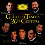 The Greatest Tenors of the 20th Century (CD)