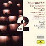 Beethoven: The Complete Concertos, Vol 2 (CD)