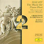 Mozart: The Music for Piano Duet (CD)