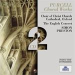 Purcell: Choral Works (CD)