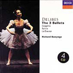 Produktbilde for Delibes - The Three Ballets (CD)