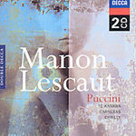 Puccini: Manon Lescaut (CD)