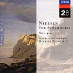 Nielsen: Syms Nos 4-6. Little Suite. Hymnus amoris. (CD)