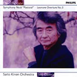 Produktbilde for Beethoven: Symphony 6 & Leonore 3 (CD)